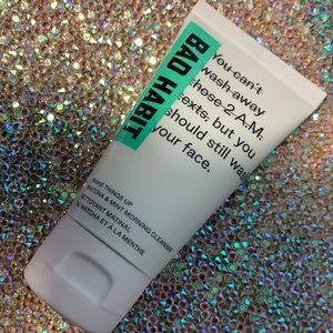 5/$25 BAD HABIT wake things up morning cleanser